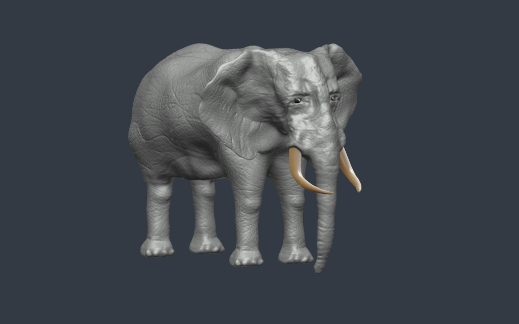 Sculpted Elephant